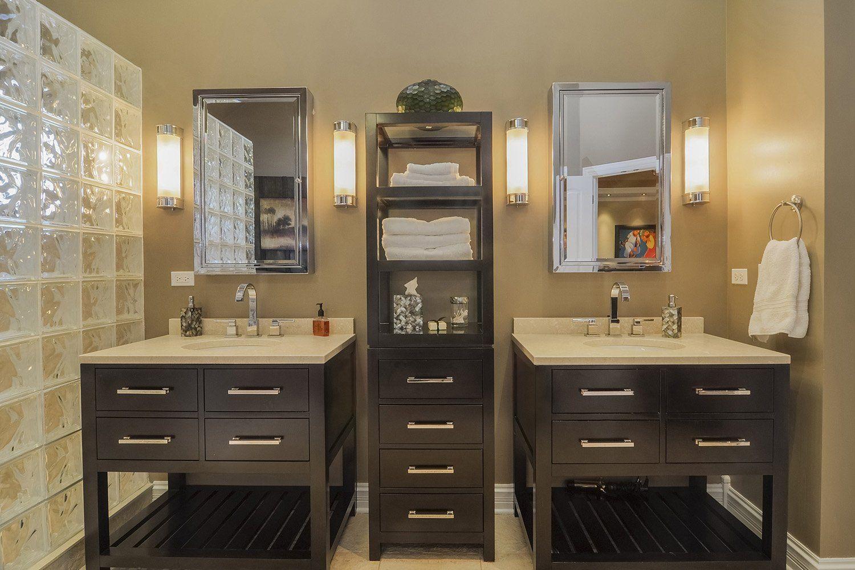 Vishal & Shefali's Master Bathroom Remodel Pictures  Granite Custom Bathroom Remodeling Naperville Decorating Design