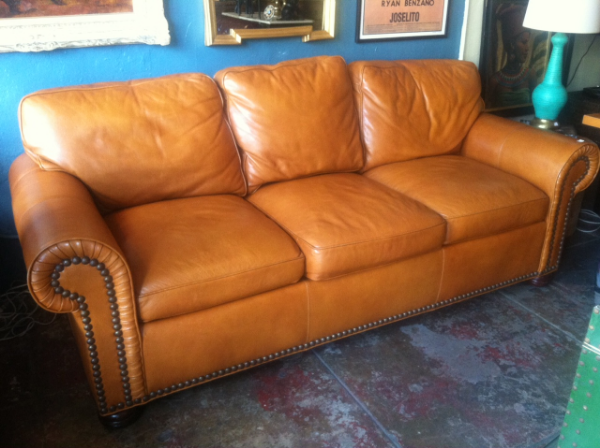 SOLD Vintage Sofas Leather Sofa Furniture Vintage
