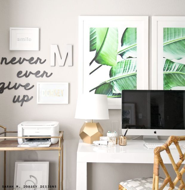 Sarah M Dorsey Designs Large Scale Banana Leaf Prints Diy