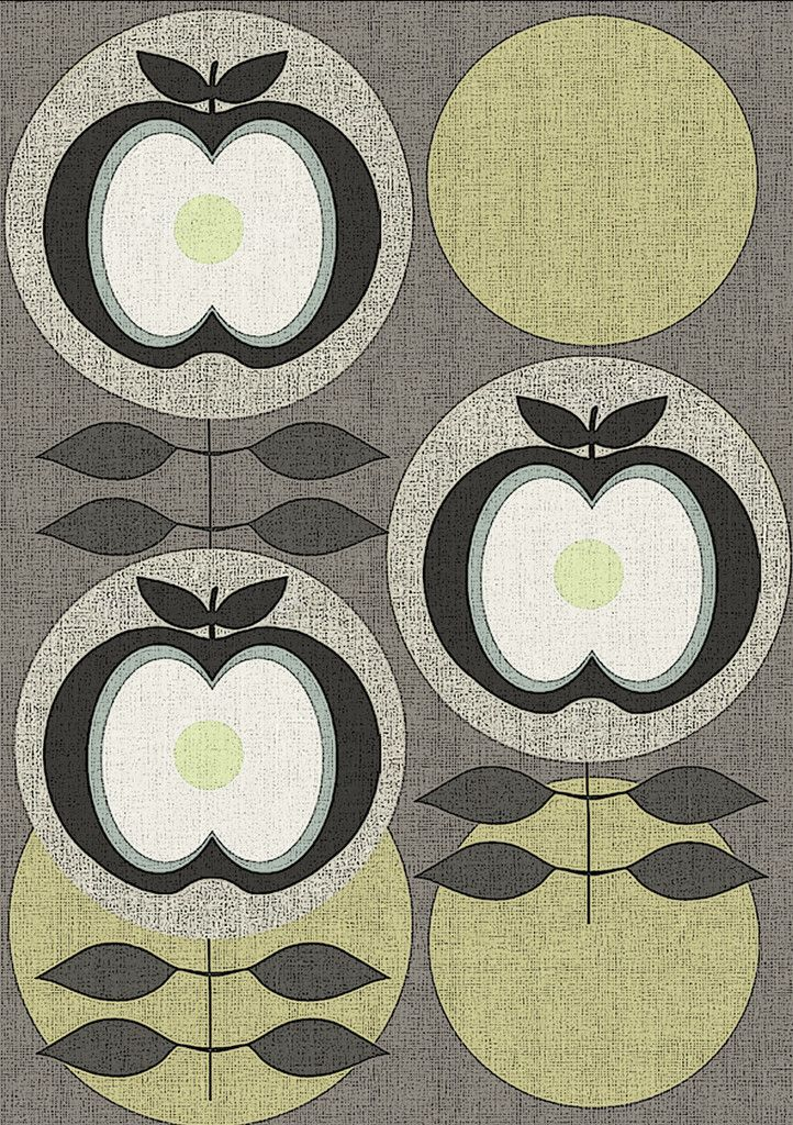 Day 223 - Linen Apple Print