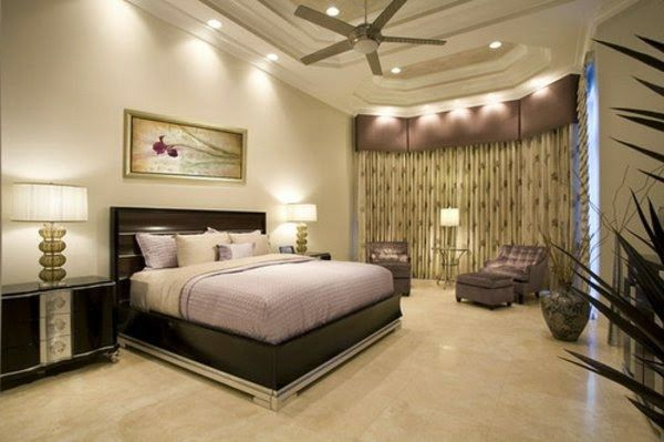 bedroom false ceiling lights with suspended cute decoration