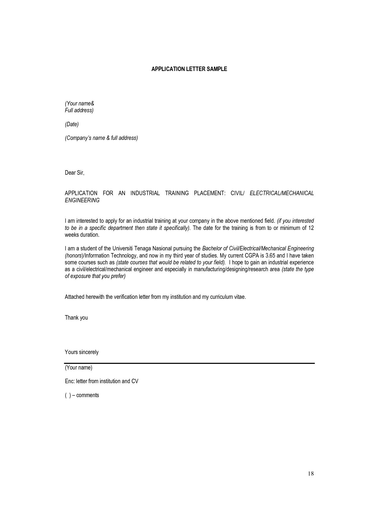 Application Letter Sample Hrm Essay Odyssean Education For Leave