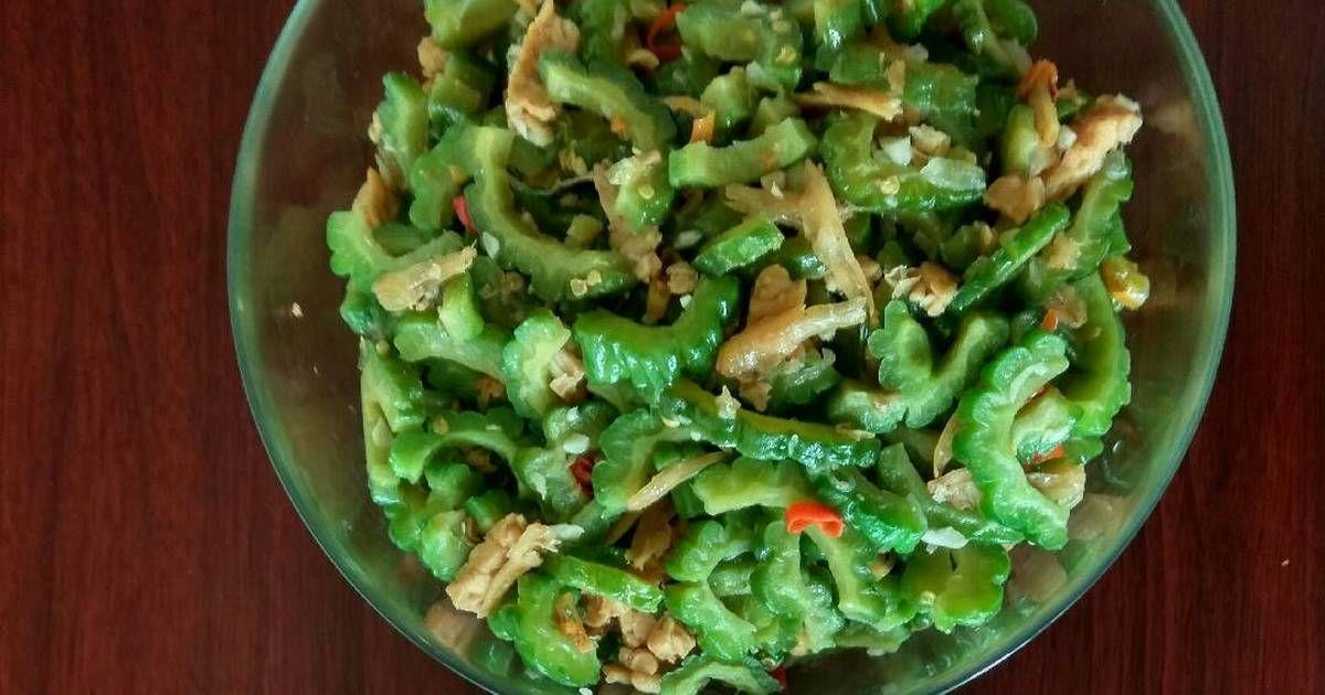 Resep Tumis Pare Tempe Teri Oleh Dewi Dapur Resep Tumis Makanan Dan Minuman Sayuran