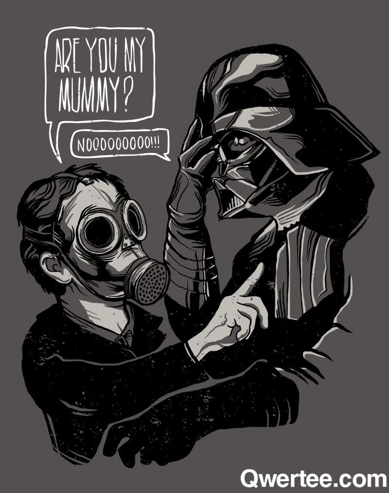 """""""Are you my father?"""""""