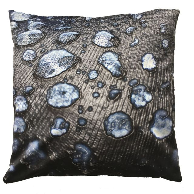 How To Wash Throw Pillows Without Removable Cover Handmade Radost Throw Pillow $54 * Rain Drops Blue * Removable