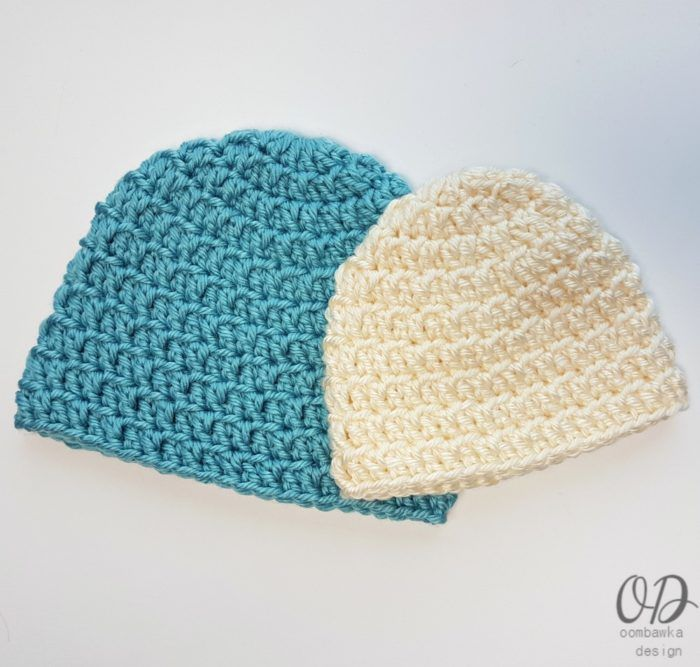 Simple Double Crochet Bulky Hat Pattern | Projects to Try ...