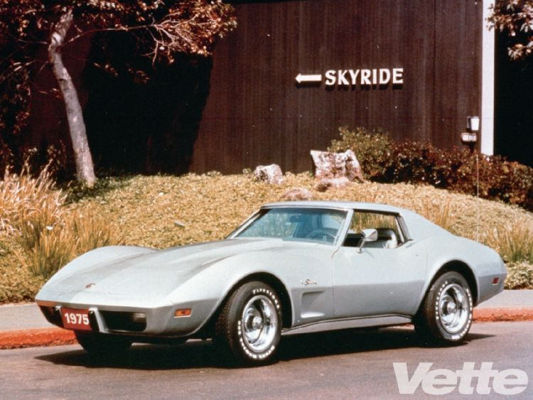 1975 Chevy Corvette.... Another stupid buy on my part. Just got it ...