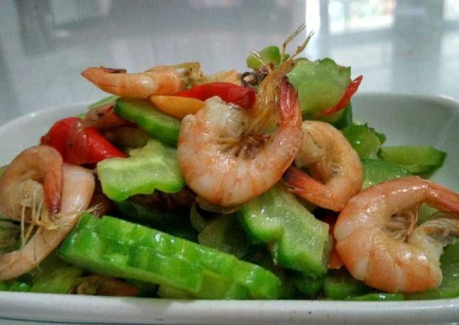 Resep Tumis Pare Udang Oleh Dian Arisa Resep Tumis Makanan Cabai Rawit