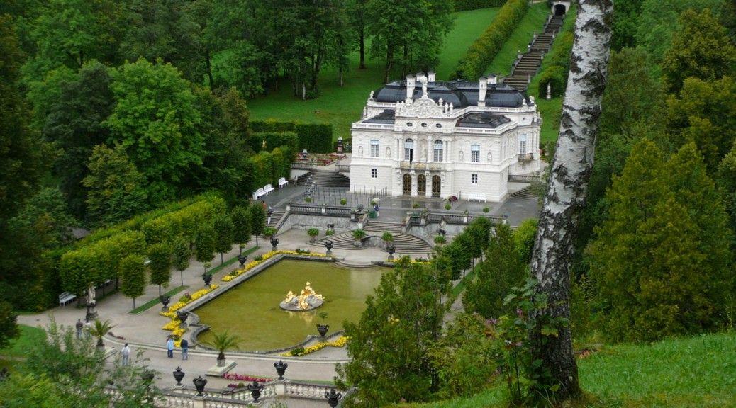 Le château de Linderhof et ses jardins inspirés de Versailles