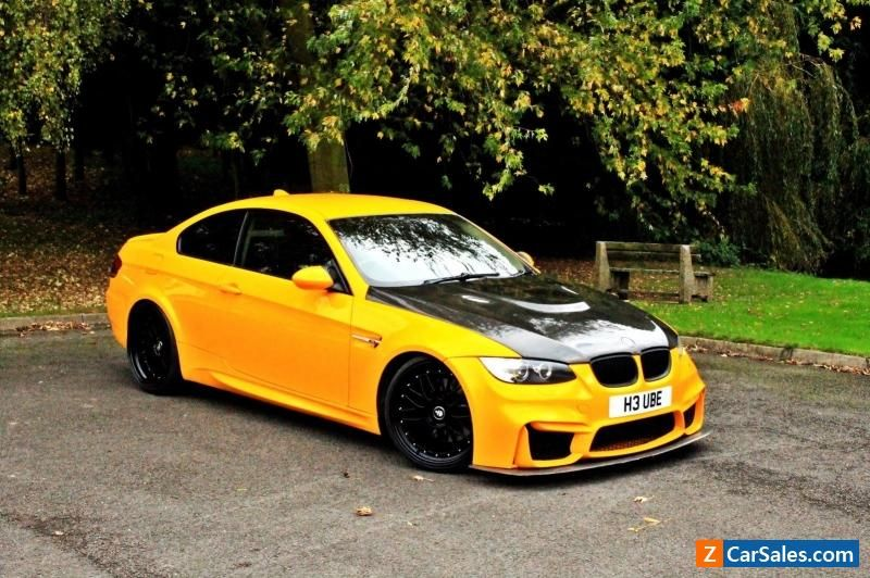 Genial BMW E92 SHOW CAR M3 BODY 400 BHP 335i TT MODIFIED MAY SWAP OR PX #