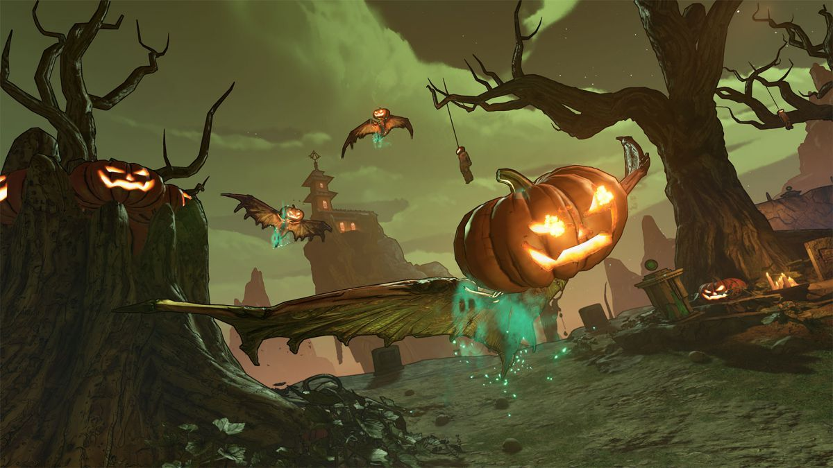 Gearbox Reveals Borderlands 3 S Free Halloween Themed Event
