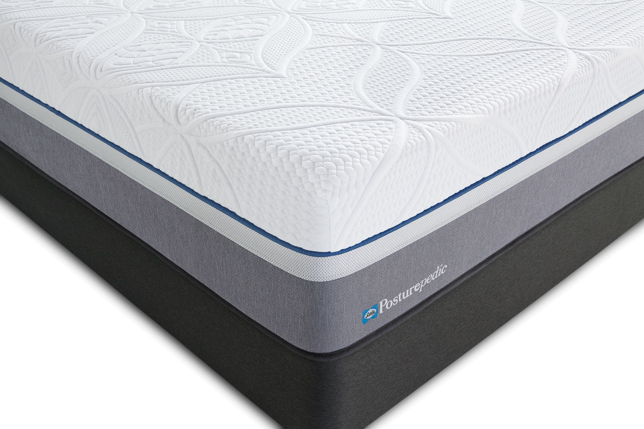 sealy posturepedic hybrid cobalt firm king mattress 2 home
