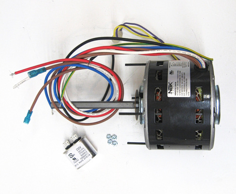 Furnace Air Handler Hvac Blower Motor 1 4 Hp 1075 Rpm 230 Volts 3 Speed Capacitor Included For Fasco D725 In 2020 Capacitors Air Handler Marathon Electric