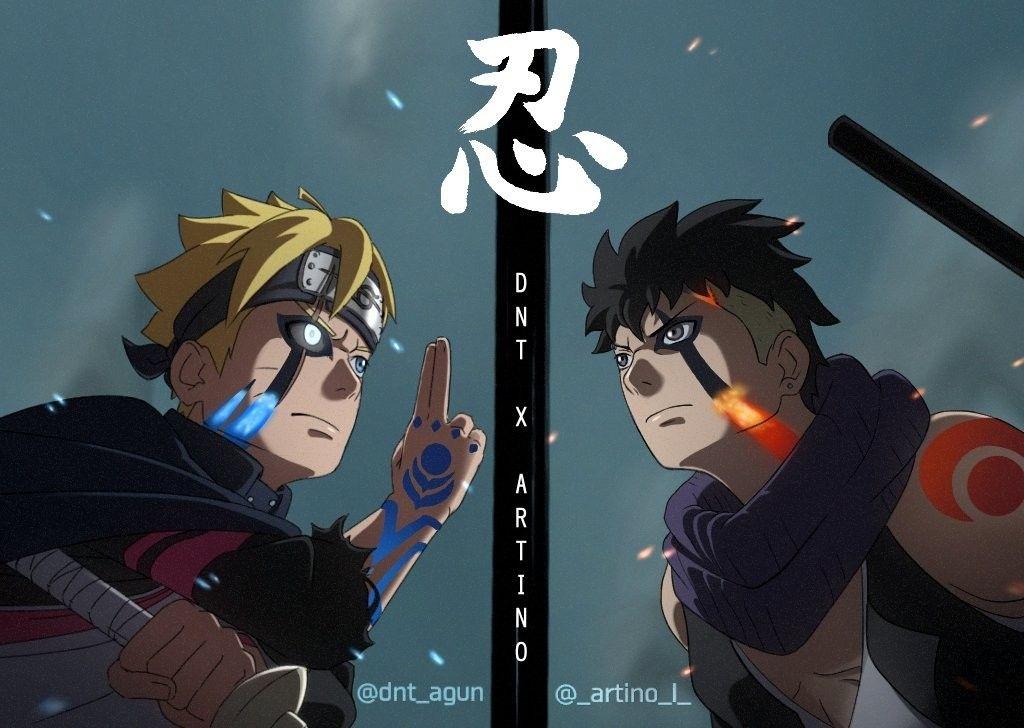 Boruto Vs Kawaki Boruto Tenseigan Uzumaki Boruto Anime