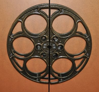 Deluxe Movie Reel Door Pulls Stargate Cinema Home