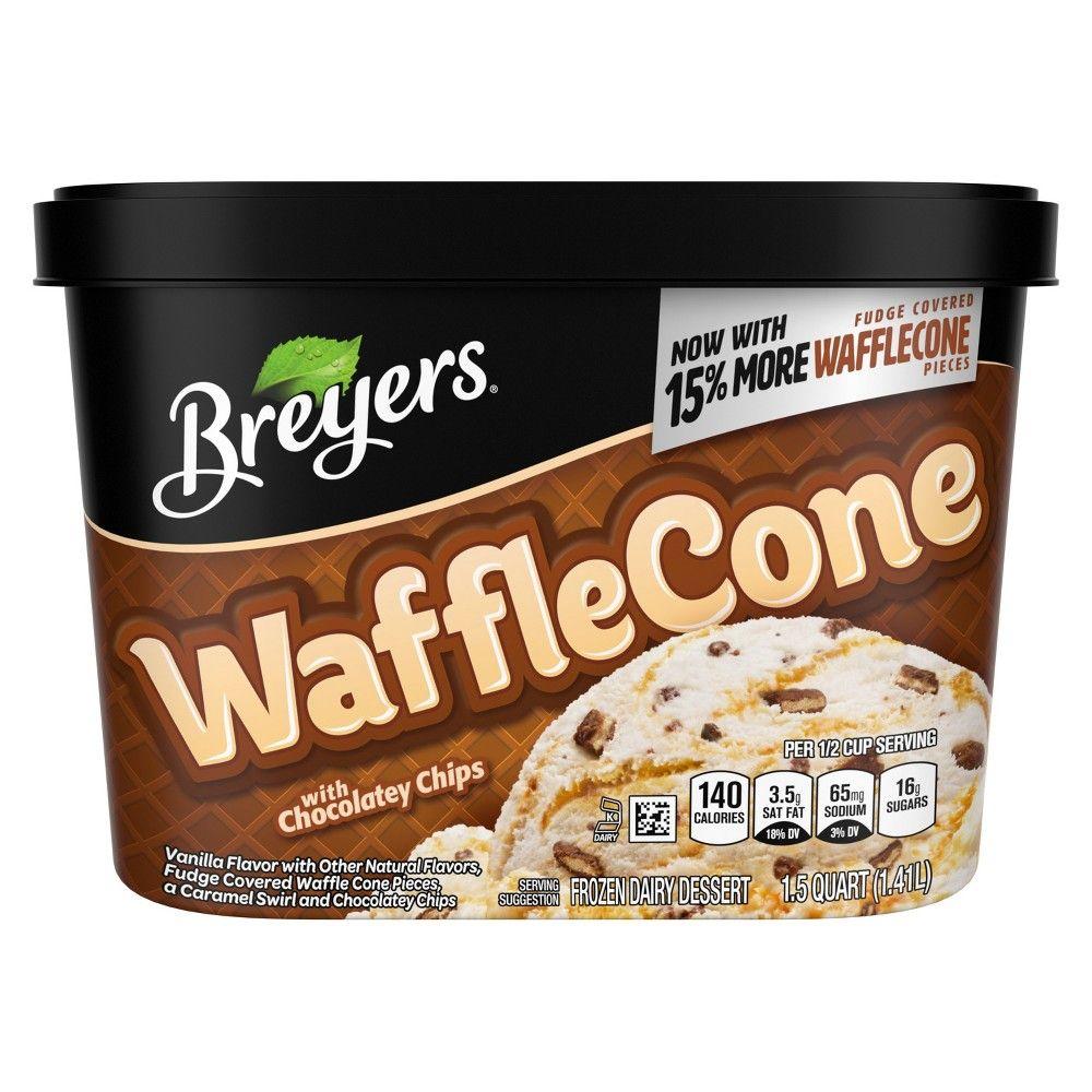 Breyers Blasts Waffle Cone Frozen Dairy Dessert 48oz Dairy