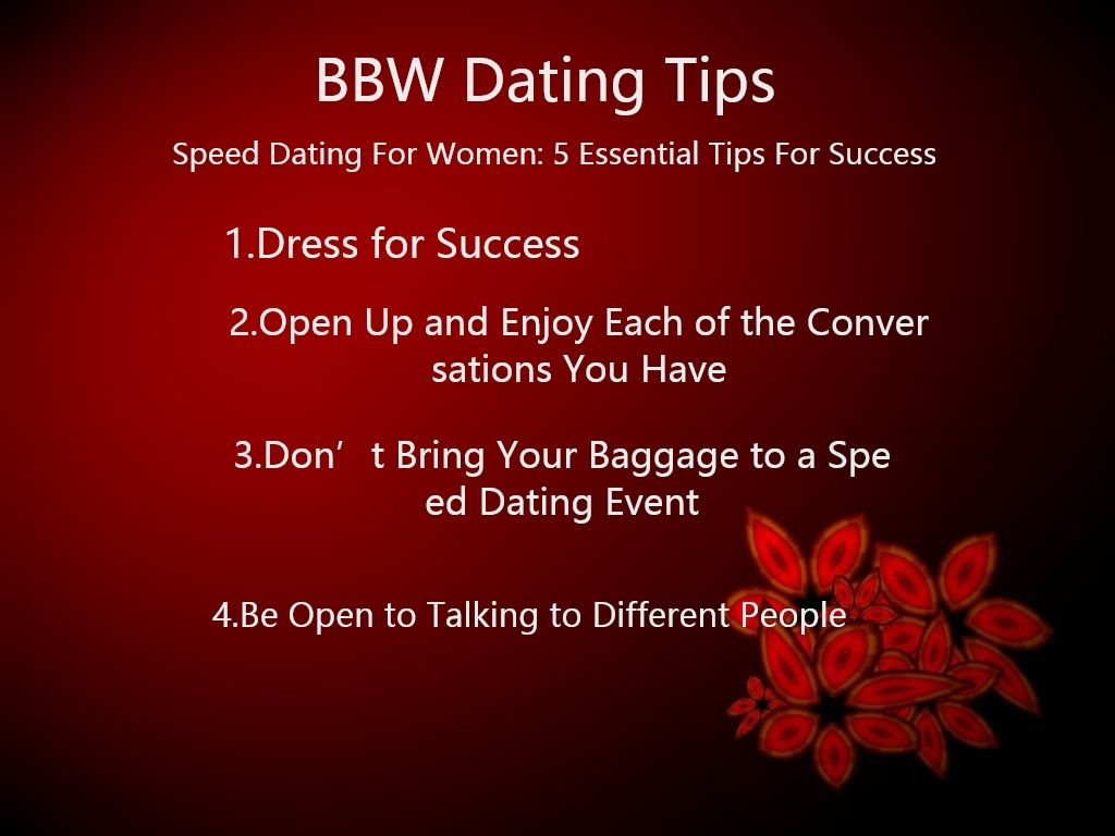 Speed Dating Tips voor succes Speed Dating evenementen in Barnsley
