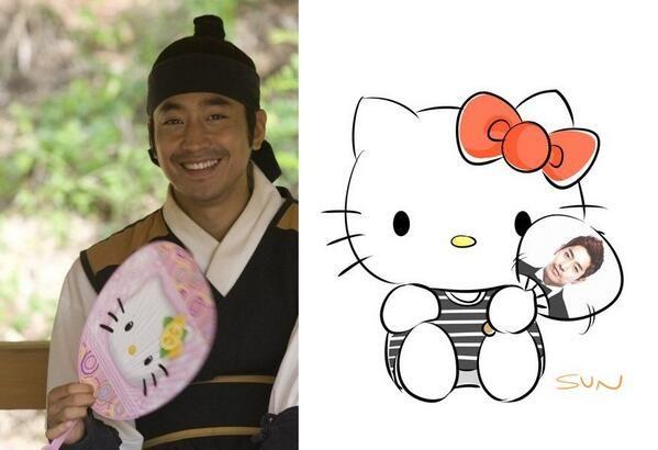 Role reversal: Eric vs Hello Kitty