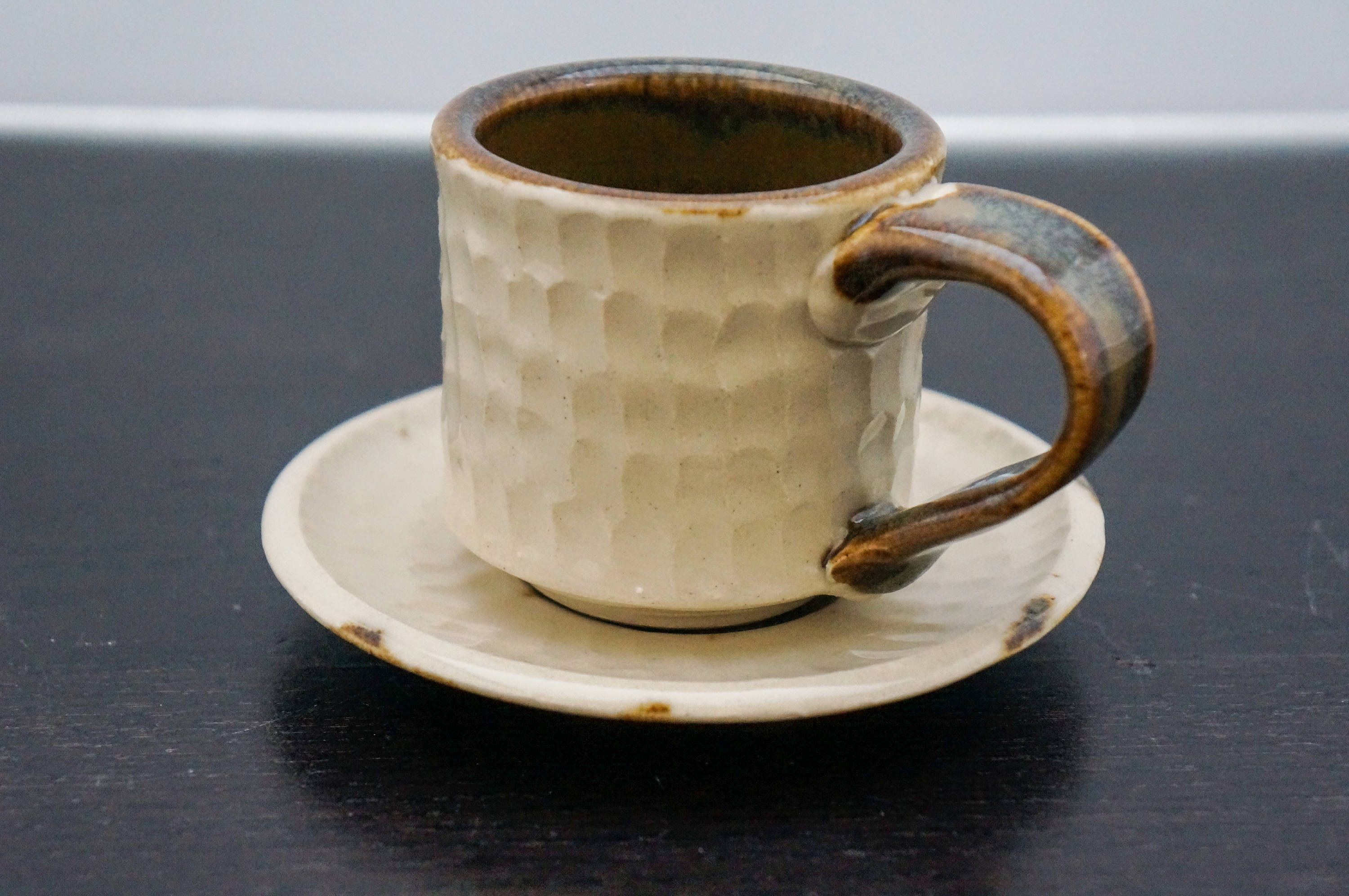 This Is A Beautiful Ceramic Espresso Cup Set That Will Hold Your Cuccino Perfectly Or Be Small Coffee