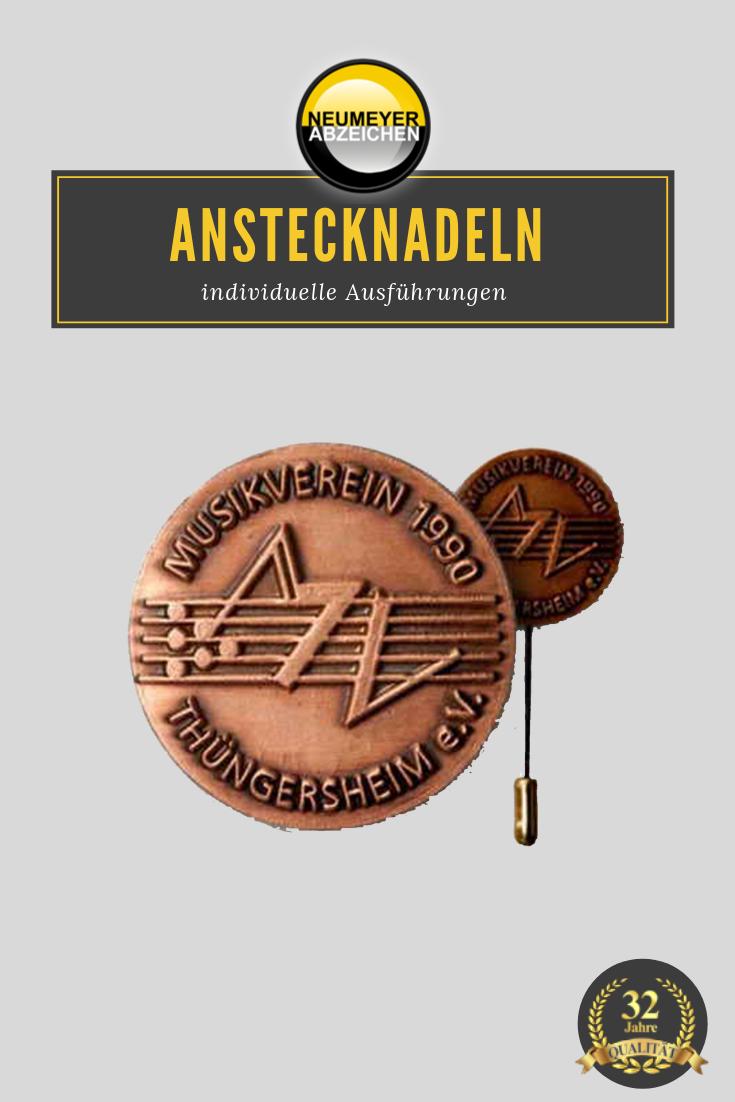 Anstecknadeln Mit Logo