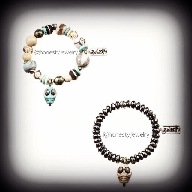 Obsessing over the New Diamond HONESTY Skulls! Sooooo SICK!!! Don't be scared!!!