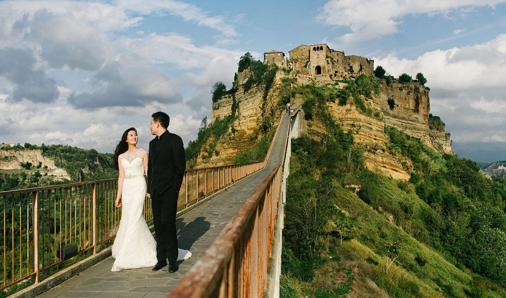 Image Result For Civita Di Bagnoregio Wedding Prewedding