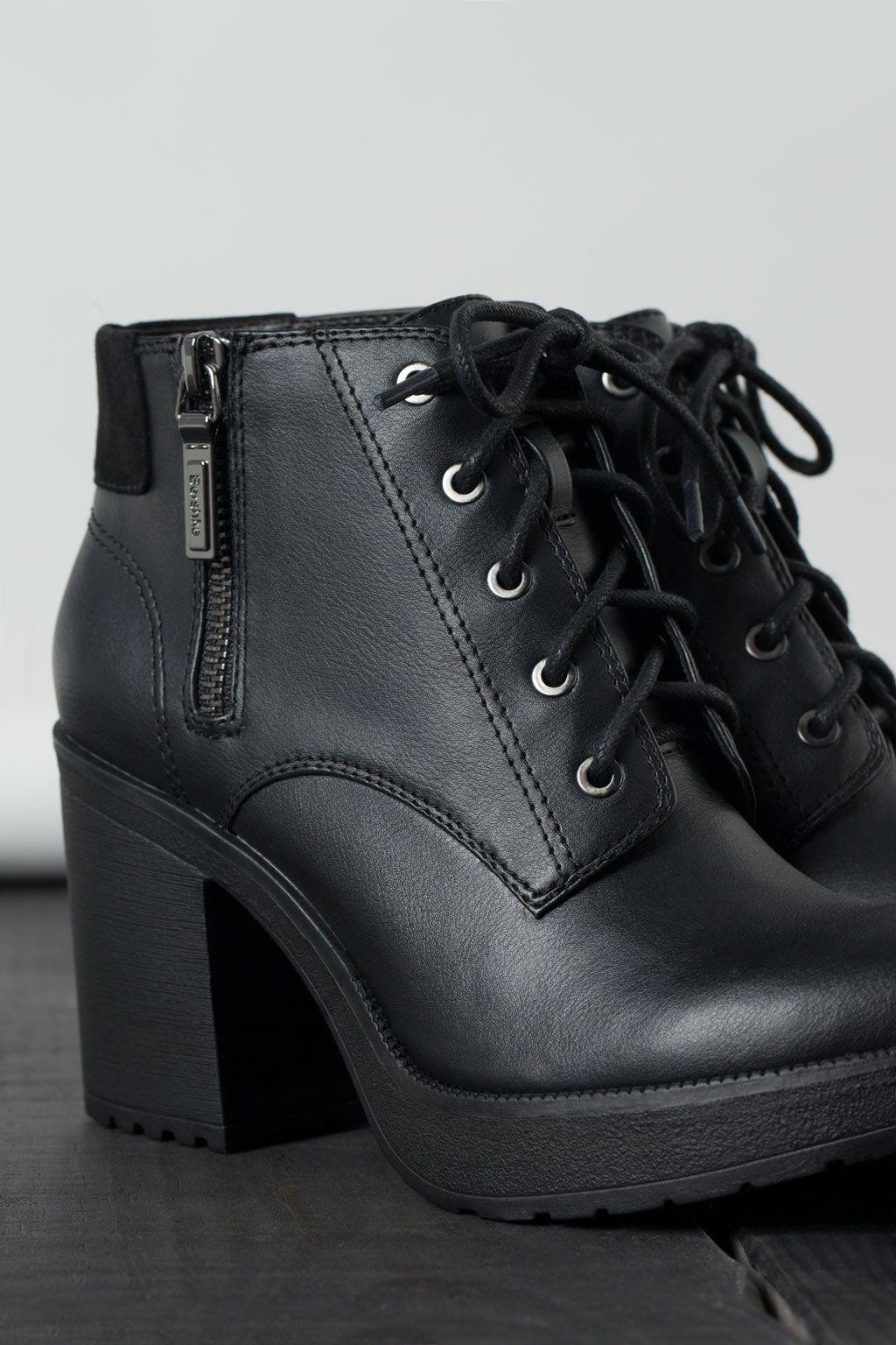 New Para Hombre Negro Marrón Sintética Funda de Piel Smart Casual Chunky Lace Up Brogue Zapatos Reino Unido Tamaño, Color Marrón, Talla 44
