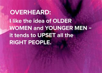 Older Women And Younger Men Overheard At A Party Older Women