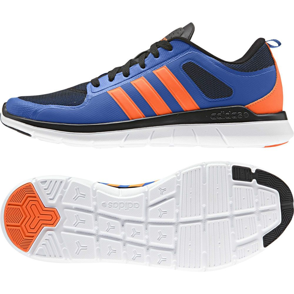 983052489c8d Adidas NEO Running Men Shoes X Lite TM Training Fitness F98744 Blue  Black Orange