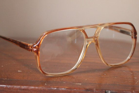 d3c8fa446bad Vintage 70s Men s Eye Glasses Eyewear Readers