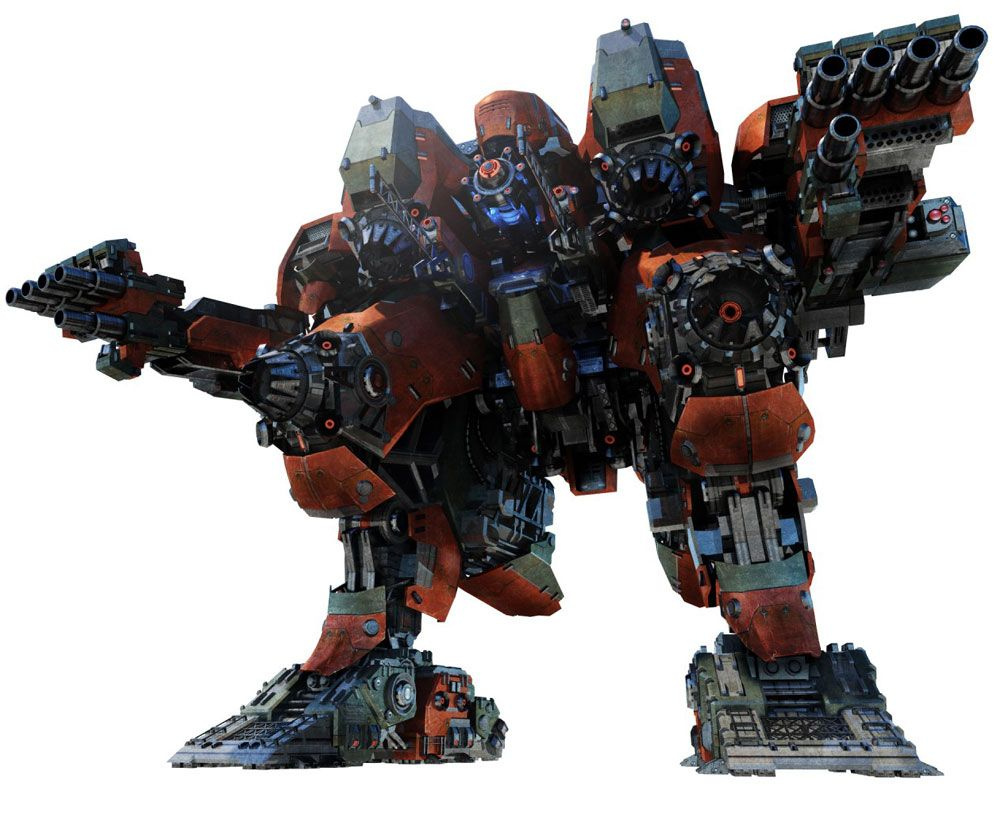 Mech from Armored Core V