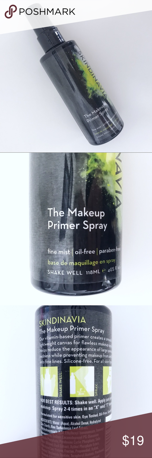 New Skindinavia The Makeup Primer Spray NWT (With images