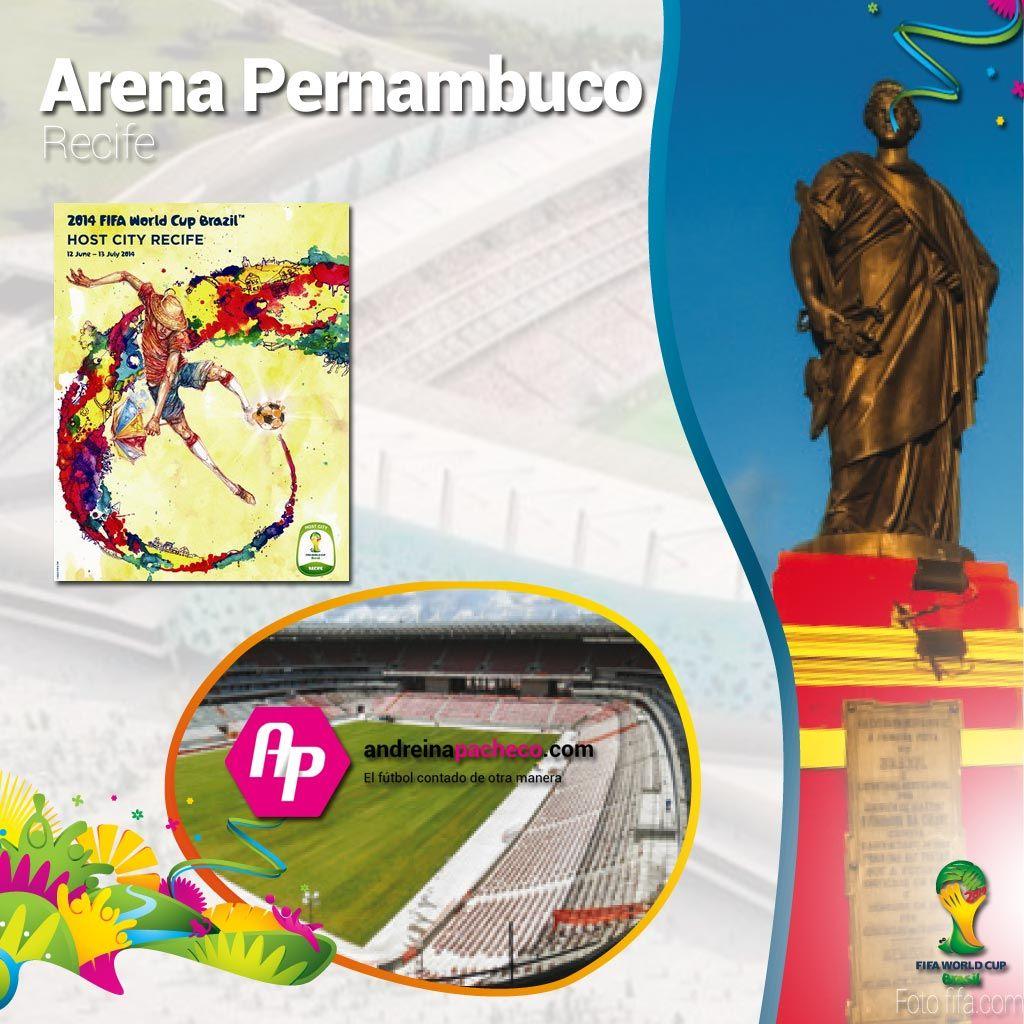 #Brasil2014 || Conoce el Arena Pernambuco  + Poster + Ciudad + Partidos que albergará  >>http://goo.gl/5xjGbl