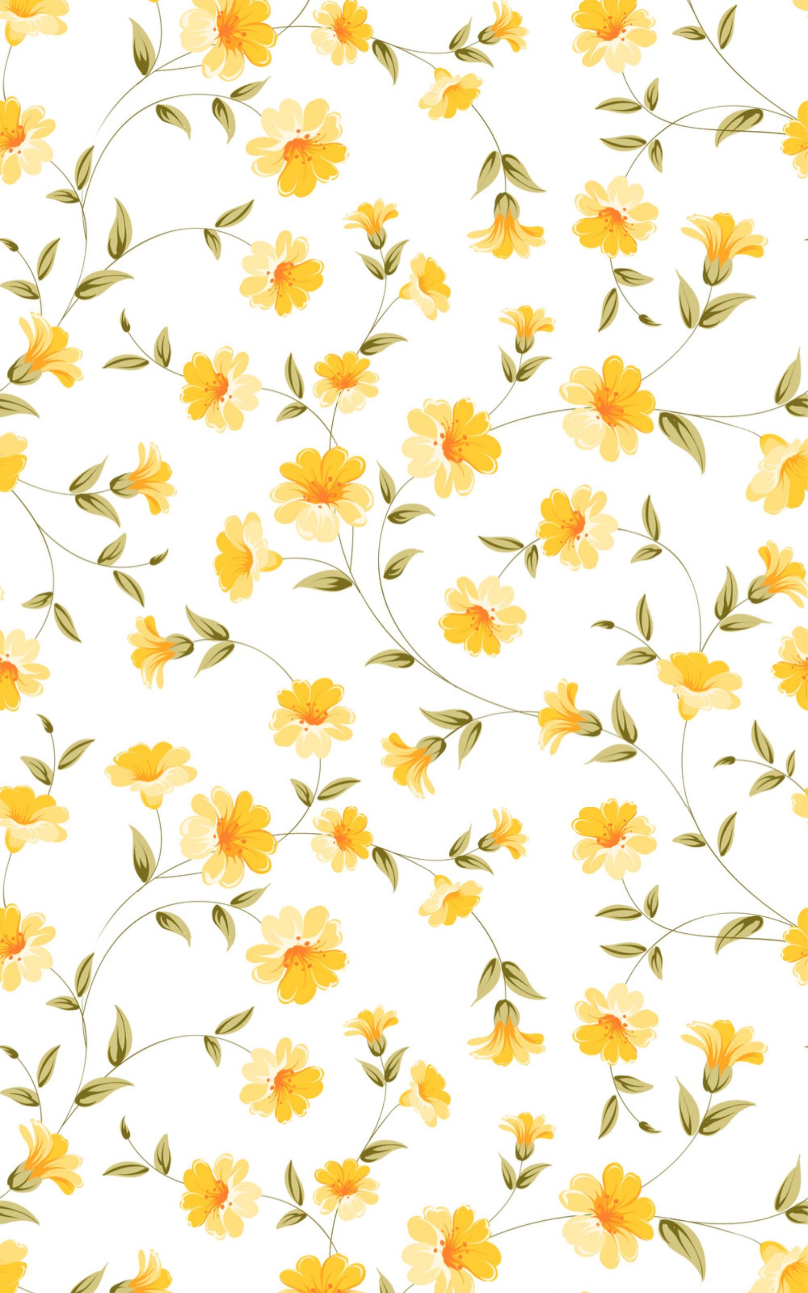 Yellow Flower Wallpaper