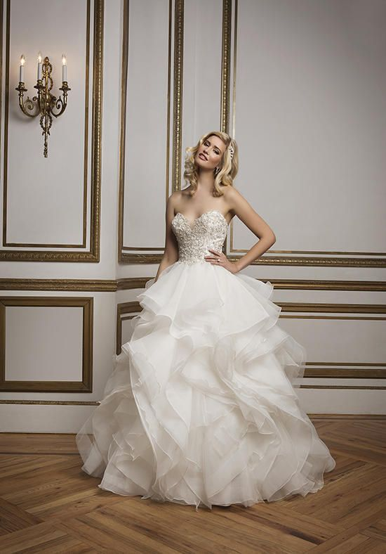 Justin Alexander Wedding Dresses: Collection and Prices   Horsehair ...