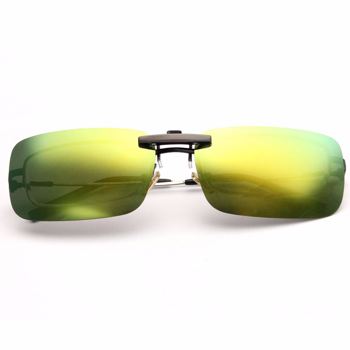 71992cdb3c BIKIGHT Polarized Clip en Gafas de Sol Night Riding Vision Lente Anti-UVA  Anti-UVB