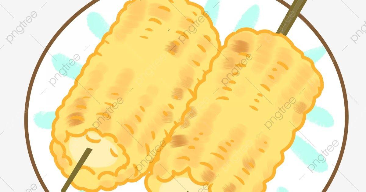 Fantastis 30 Gambar Jagung Bakar Kartun Gourmet Jagung Bakar Makanan Ringan Hidangan Lazat Gourmet Download Gambar Vector Jagung Kartun Gambar Roti Jagung