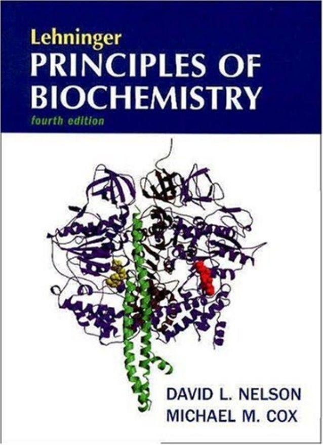 Libro De Bioquímica Lehninger Principios De Bioquímica 4ta Edición Bioquimica Libros Bioquímica Pdf Libros