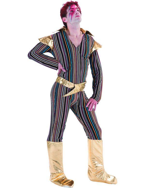 ADULT MENS ZIGGY STARDUST 70s 1970u0027s DAVID BOWIE POP STAR FANCY DRESS COSTUME  sc 1 st  Pinterest & ADULT MENS ZIGGY STARDUST 70s 1970u0027s DAVID BOWIE POP STAR FANCY ...