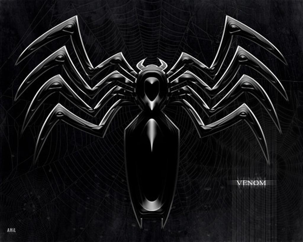 Venom Symbol Wallpaper Marvel Venom Evil Villain Or Anti Hero
