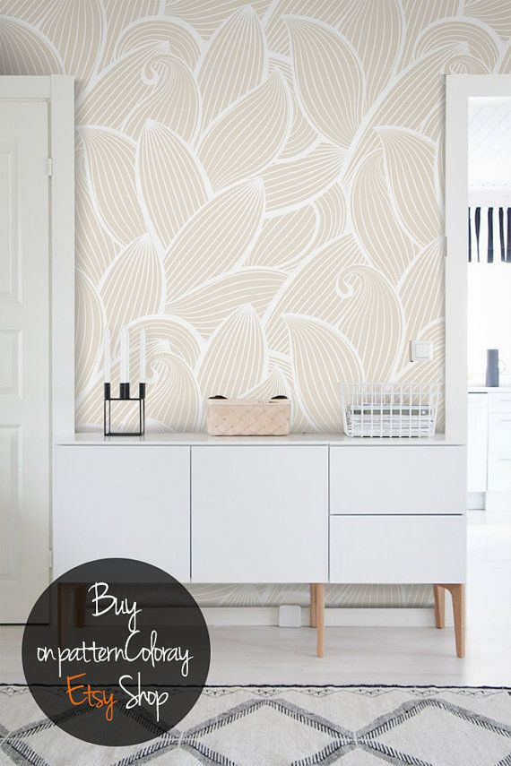 Abstract pattern peel and stick wallpaper reusable wallpaper temporary wall mural peel and