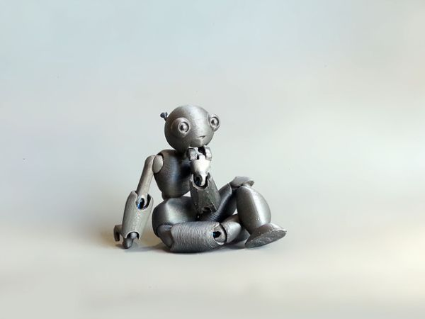 3ders.org - Toy designer uses 3D printer to quickly produce ball-jointed doll designs   3D Printer News & 3D Printing News
