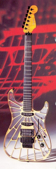 Fender transparent.