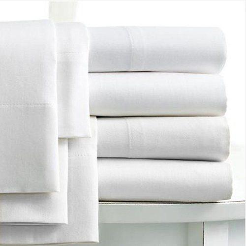 Linens Limited 100% Egyptian Cotton 400 Thread Count Extra Deep Fitted Sheet,  White,