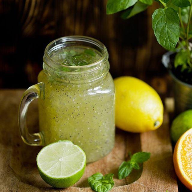 Der Schlankdrink: Chiawasser mit Zitrone