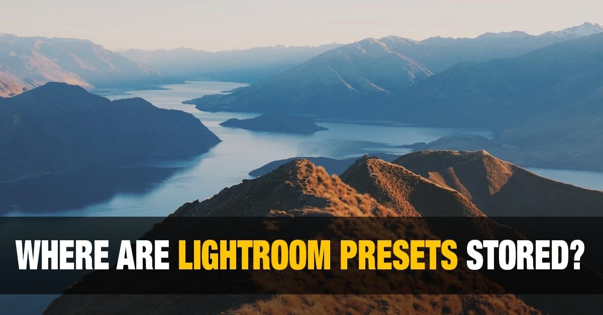 Where are lightroom presets stored mac