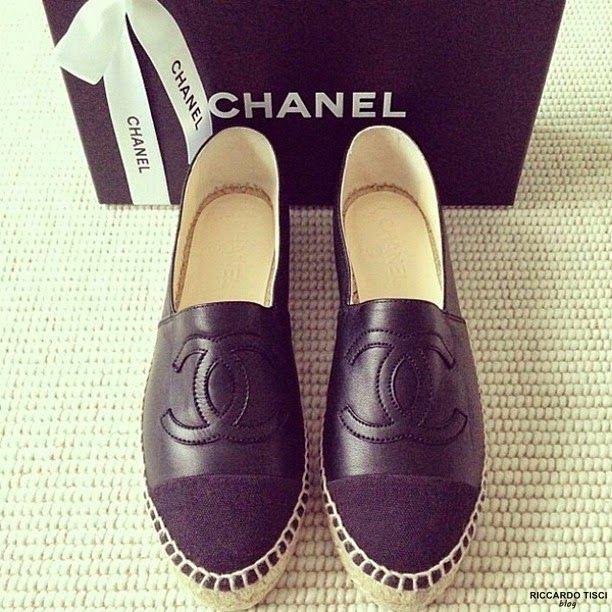 shoes chanel espadrilles shoes womens