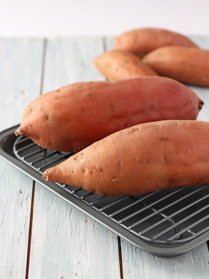 Toaster Oven Baked Sweet Potatoes Recipe Sweet Potato Toaster Oven Oven Baked Baking Sweet