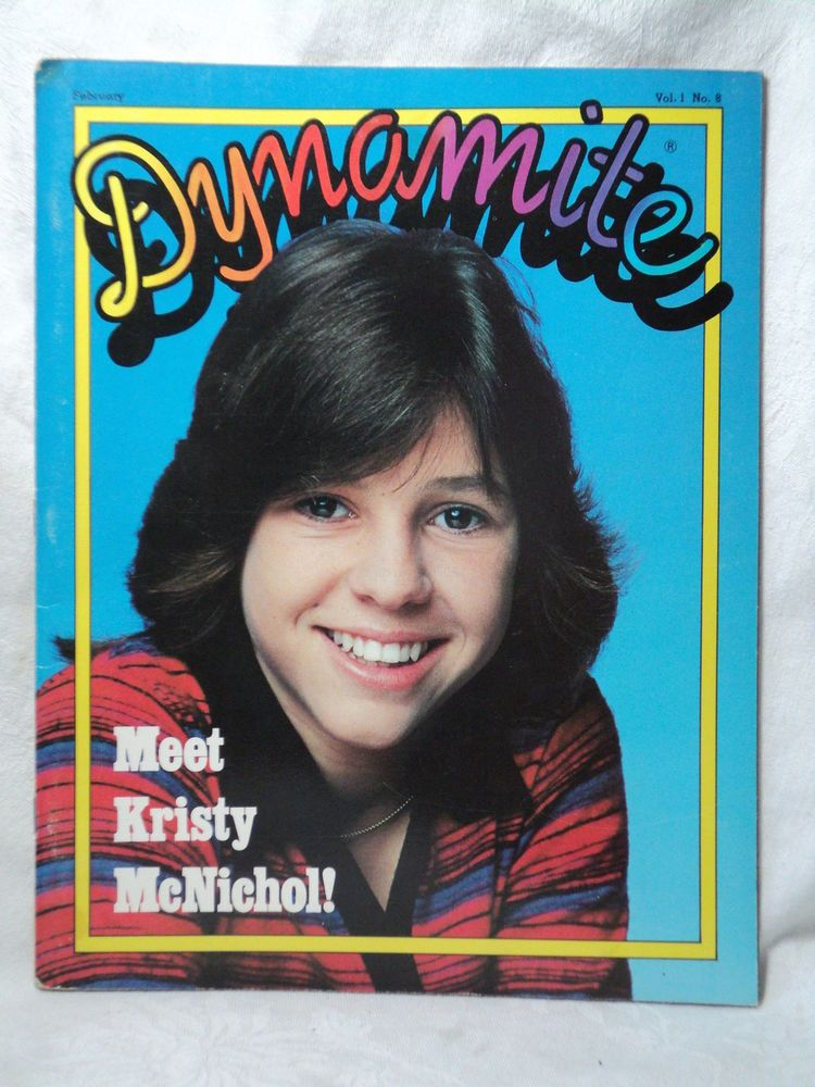 February 1978: Meet fifteen-year-old Kristy McNichol!
