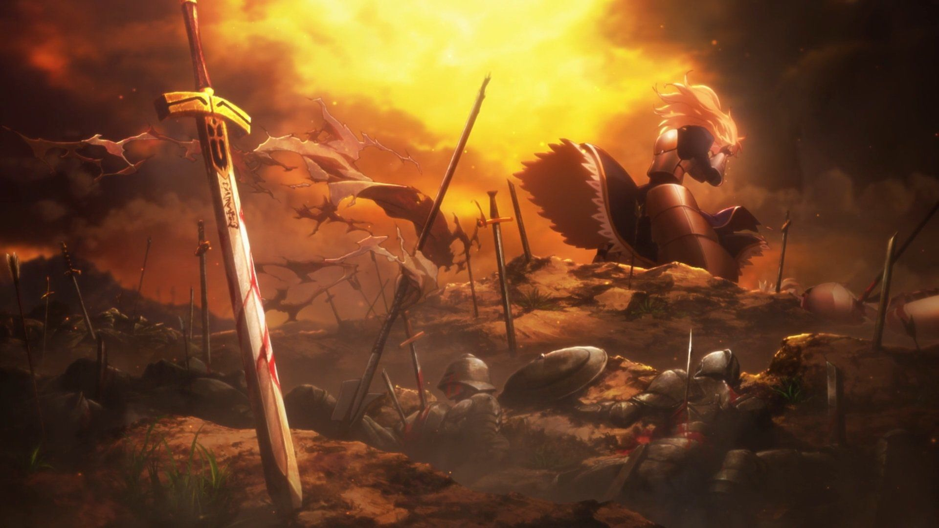 Fate Stay Night Unlimited Blade Works 2nd Eps Penelusuran Google Fate Stay Night Stay Night Background Images